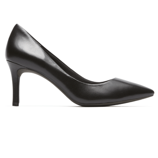Total Motion Pointed Toe Pump - Women's Black Heels